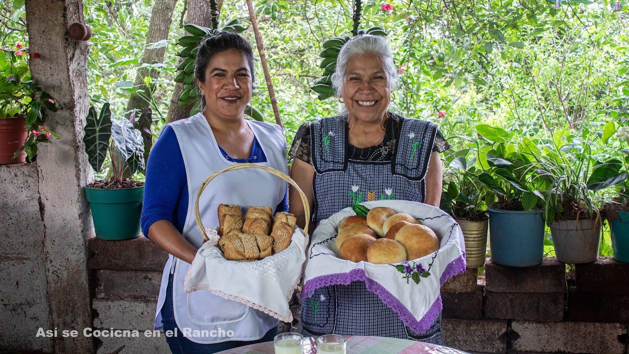 PAN INTEGRAL RELLENO DE HIGO Así se Cocina en el Rancho