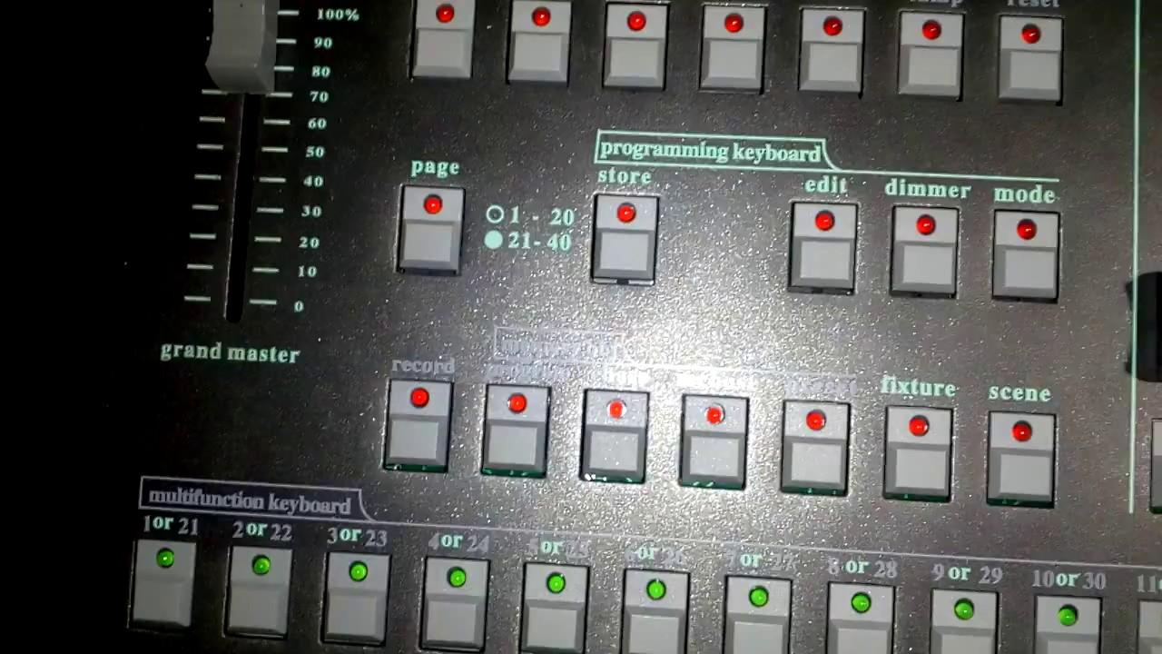 Jia J193 universal DMX CONTROLLER