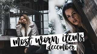 Most Worn Items: December | Fashion Favourites | Copper Garden