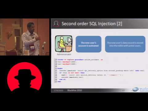 Black Hat USA 2010: Hacking Oracle From Web Apps 3/5