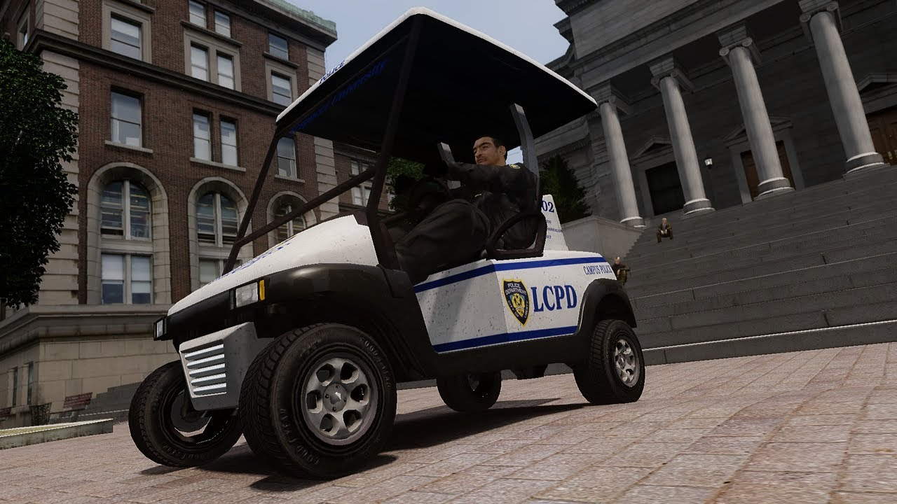 Police Golf Cart Gta Iv Car Mod Youtube