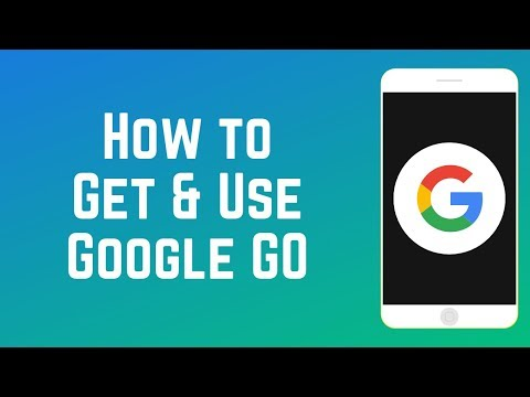 How To Get And Use Google Go - New LITE Google App For Android!
