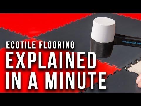 Ecotile Flooring Explained In Less Than  A Minute