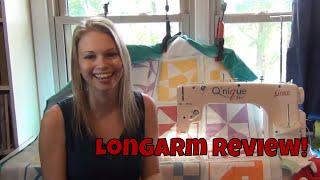 Sewing Machine Review: Grace Qnique 14+ Sit Down Longarm