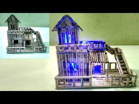 How to make newspaper house Show piece - DIY | Newspaper 1 | All type videyos