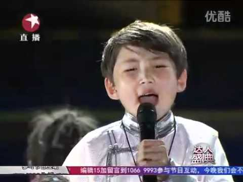 Final Wudamu 12-year-old Mongolian China's got talent 2011 中国达人秀