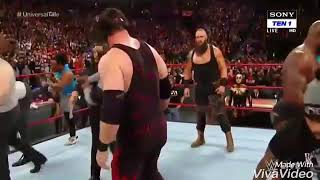Daku song elly mangat braun strowman vs brock fight