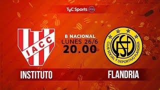 Primera B Nacional: Instituto vs. Flandria | #BNacionalenTyC