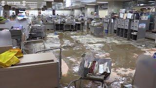 台風19号浸水の長野・飯山市役所再開 り災証明書発行に追われる