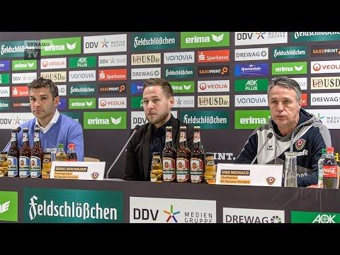29. Spieltag | SGD - SVK | Pressekonferenz nach dem Spiel