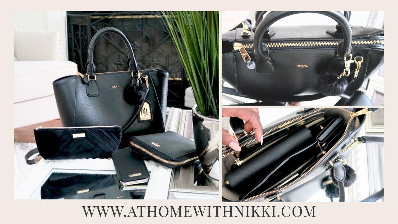 Handbag Organization My Current