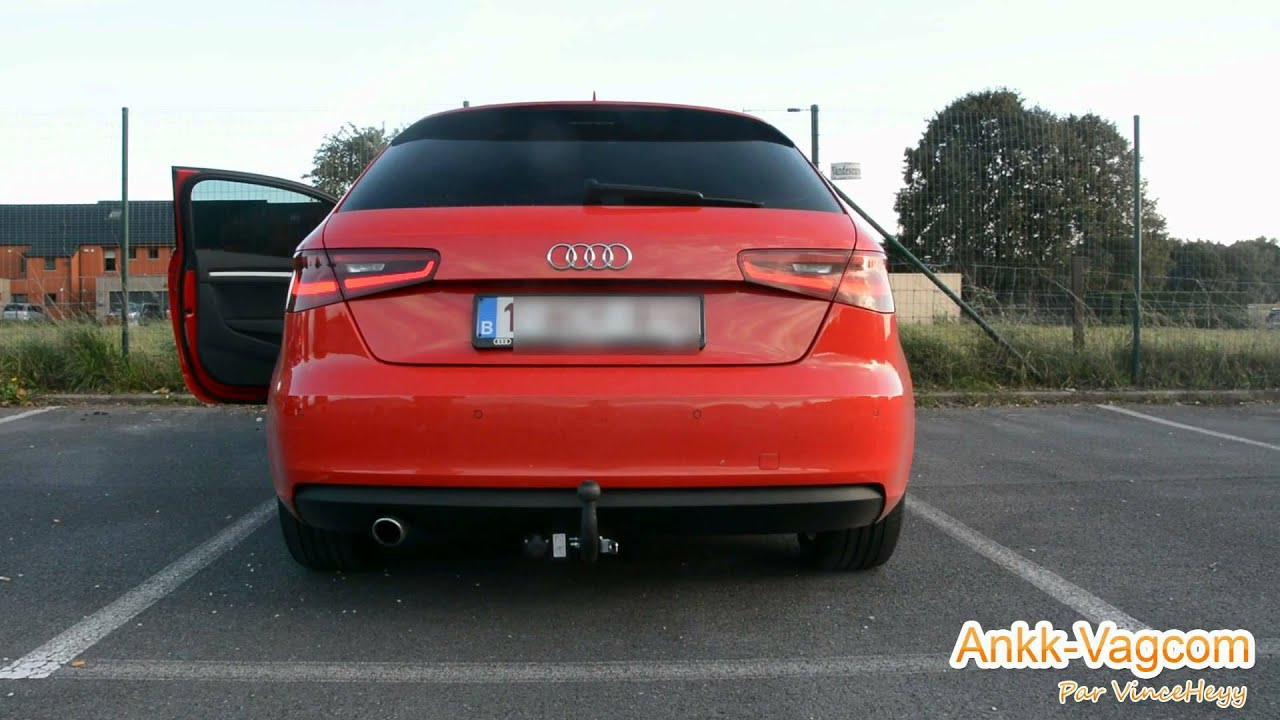 audi a3 8v rear brake light as turn signal youtube. Black Bedroom Furniture Sets. Home Design Ideas