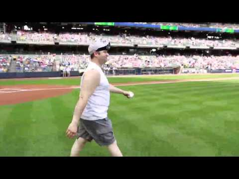 Fritzy's First Pitch