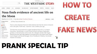 How to create a fake story or How to edit a true newspaper - Coffee Pro Tips