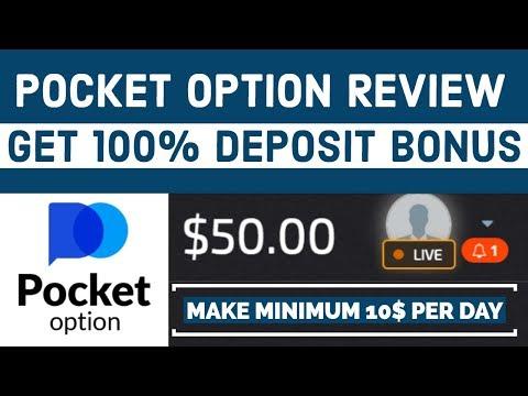 🆕 Pocket Option Review | Get 100% Deposit Bonus