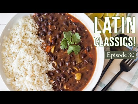 Easy Dominican Rice And Beans