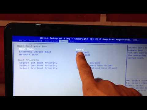 Como Instalar Windows 7 Ou 8 No Notebook SONY VAIO SVE14AE13X...