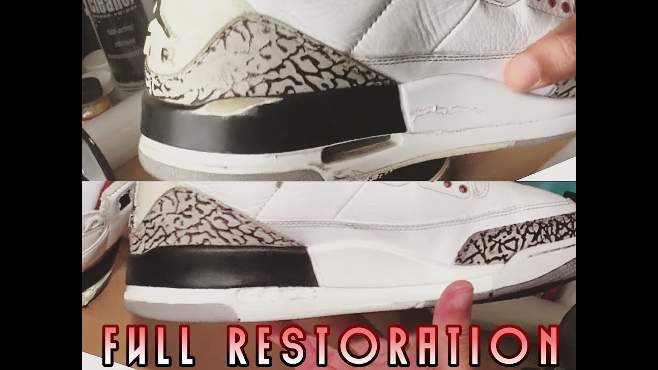 bed2e75b3aa4a5 2011 White Cement 3 FULL RESTORATION - YouTube
