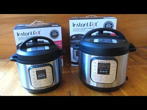 Instant Pot Duo 3 Quart Vs 6 Quart Size Comparison Youtube