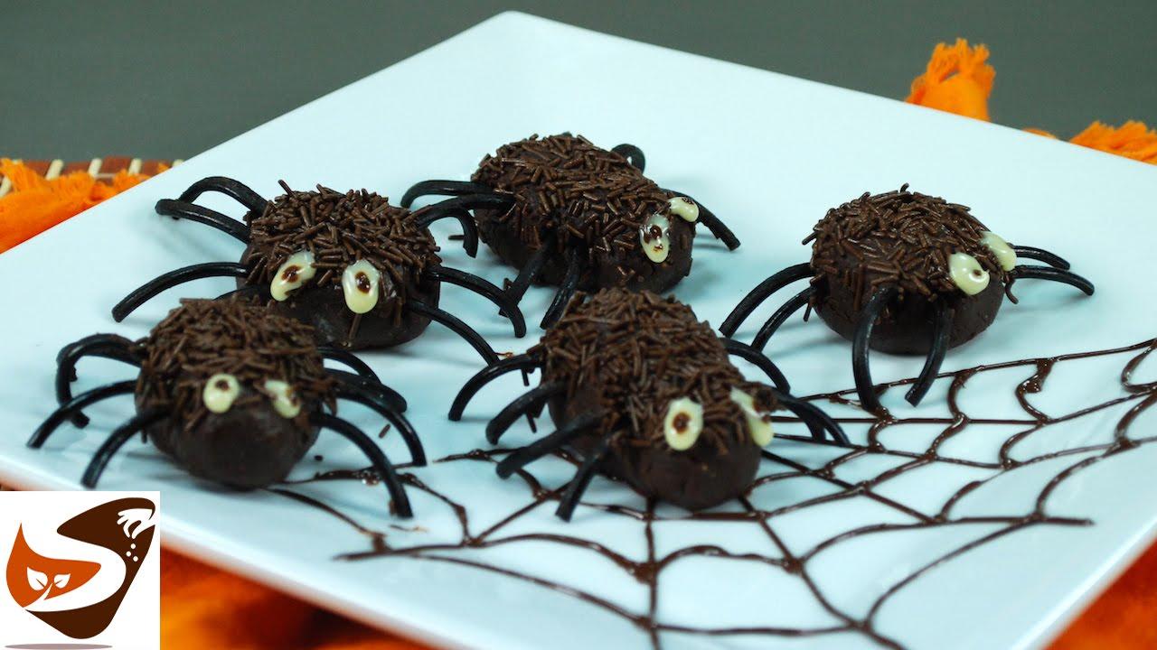 Conosciuto Dolci di Halloween: ragnetti per bambini - ricette dolci  OR81