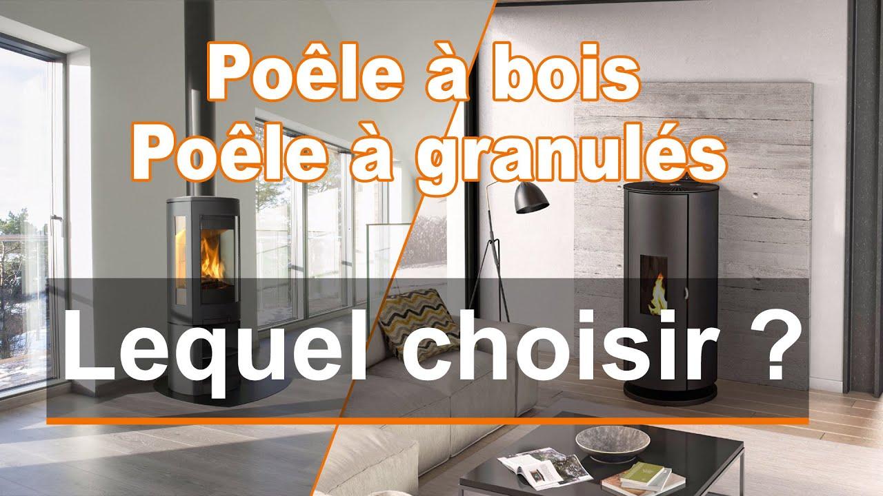 Poele A Pellet Que Choisir poêle à bois ou poêle à granulés : lequel choisir ?