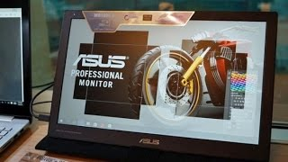Asus MB169C+ Monitor: First Powered by USB Type-C