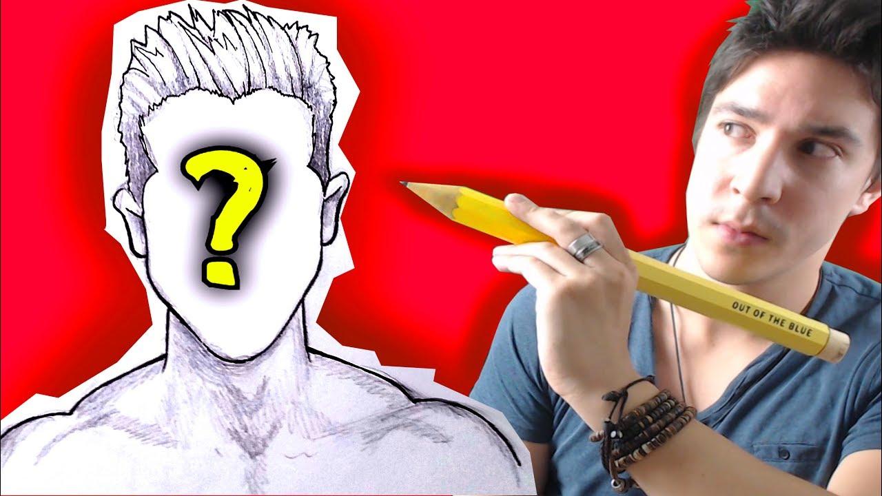 Je Dessine Les Youtubers En Manga Youtube