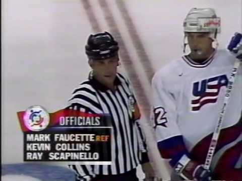 1996 World Cup Of Hockey Finals Game 1 USA Vs Canada