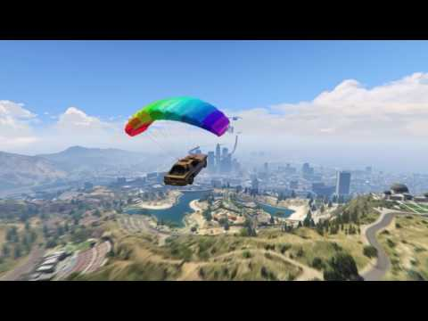 CROSSING LOS SANTOS WITH ONLY ONE PARACHUTE