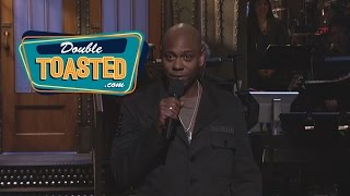 DAVE CHAPELLE AND HIS SATURDAY NIGHT LIVE APPEARANCE   Double Toasted Podcast Highlight
