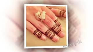mehendi finger best super designs bride super