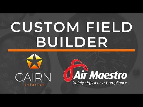 January 2020 Webinar - Custom Field Builder