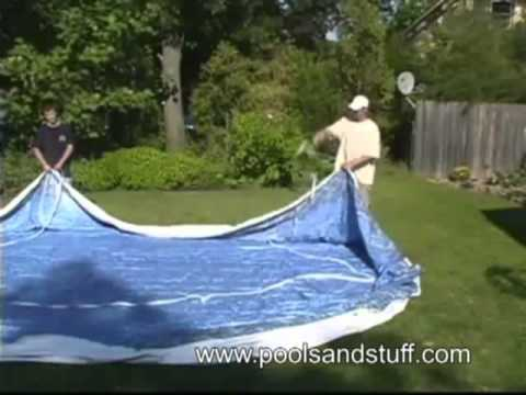 Oval Above-Ground Pool Installation (2) | DIY Pool Videos, Pools And Stuff