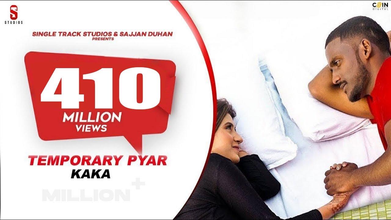 Download Kaka New Song -Temporary Pyar   Darling   Adaab Kharoud   Anjali Arora   New Punjabi Songs 2021