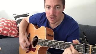 Cover images The Way I Talk | Morgan Wallen | Beginner Guitar Lesson
