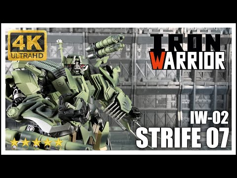Iron Warrior Dual Model Series IW-02 STRIFE 07 Transformers Brawl Kit