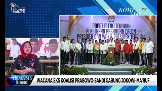 Wacana Eks Koalisi Prabowo-Sandi Gabung Jokowi-Ma'ruf