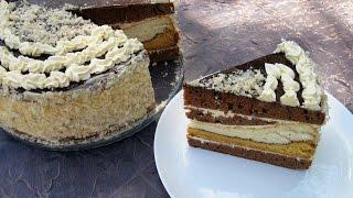 """Торт """"Идеал"""" / Очень вкусный, простой пошаговый рецепт"""