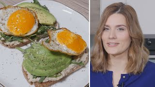 Neįprastas derinys: sumuštiniai su pupelių užtepėle ir kiaušiniu
