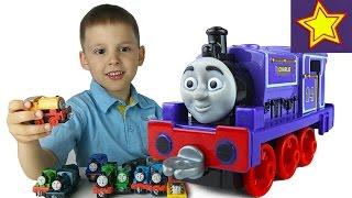 Паровозики Томас и его друзья Чарли распаковка игрушки Thomas & Friends Charlie Unboxing