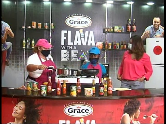 Grace & You Cooking Show - Grace Bacon Grilled Luncheon Meat Fried Rice