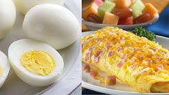 Eggs vs Omelette! Which one is better for you?
