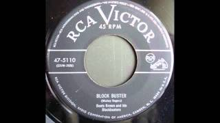 BOOTS BROWN and the blockbusters - BLOCK BUSTER