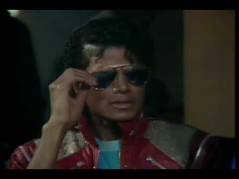 Michael Jackson Interview - Beat It Set