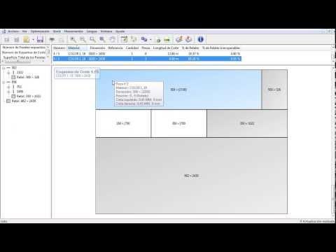 Software para dise o de muebles closets y cocinas cor for Software para diseno de muebles y optimizacion de corte gratis