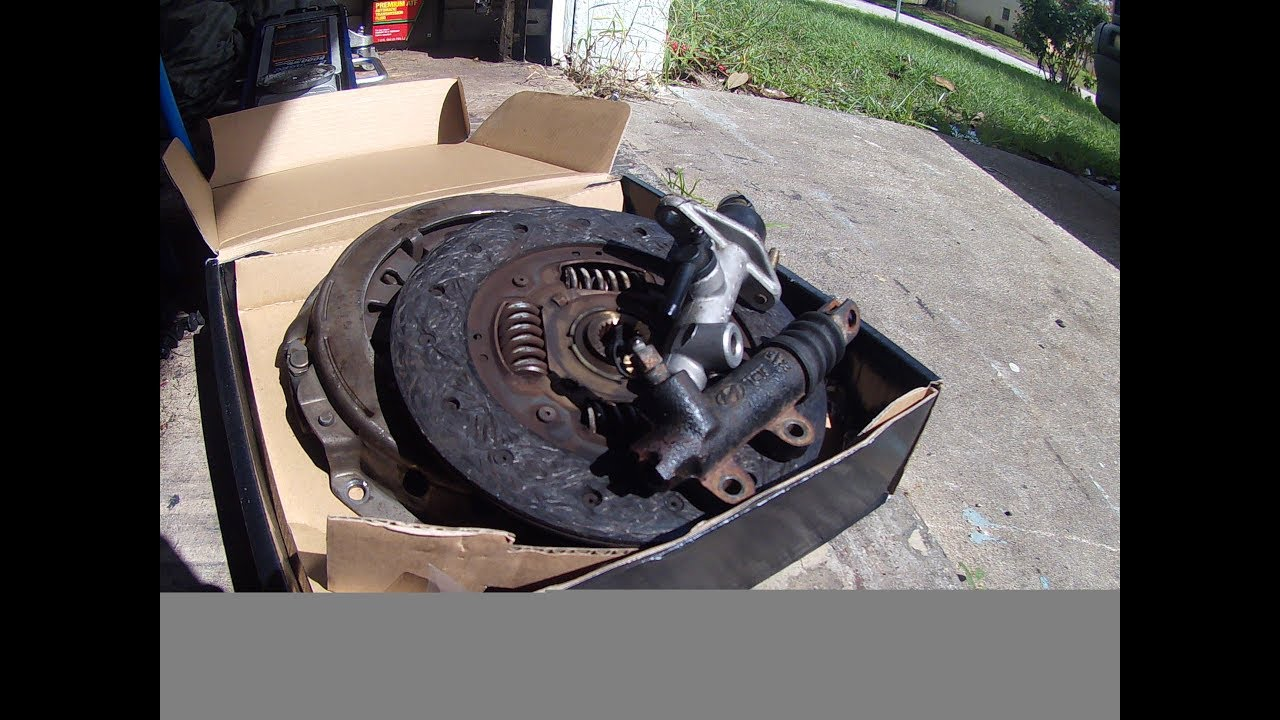 clutch replacement on 06 kia spectra