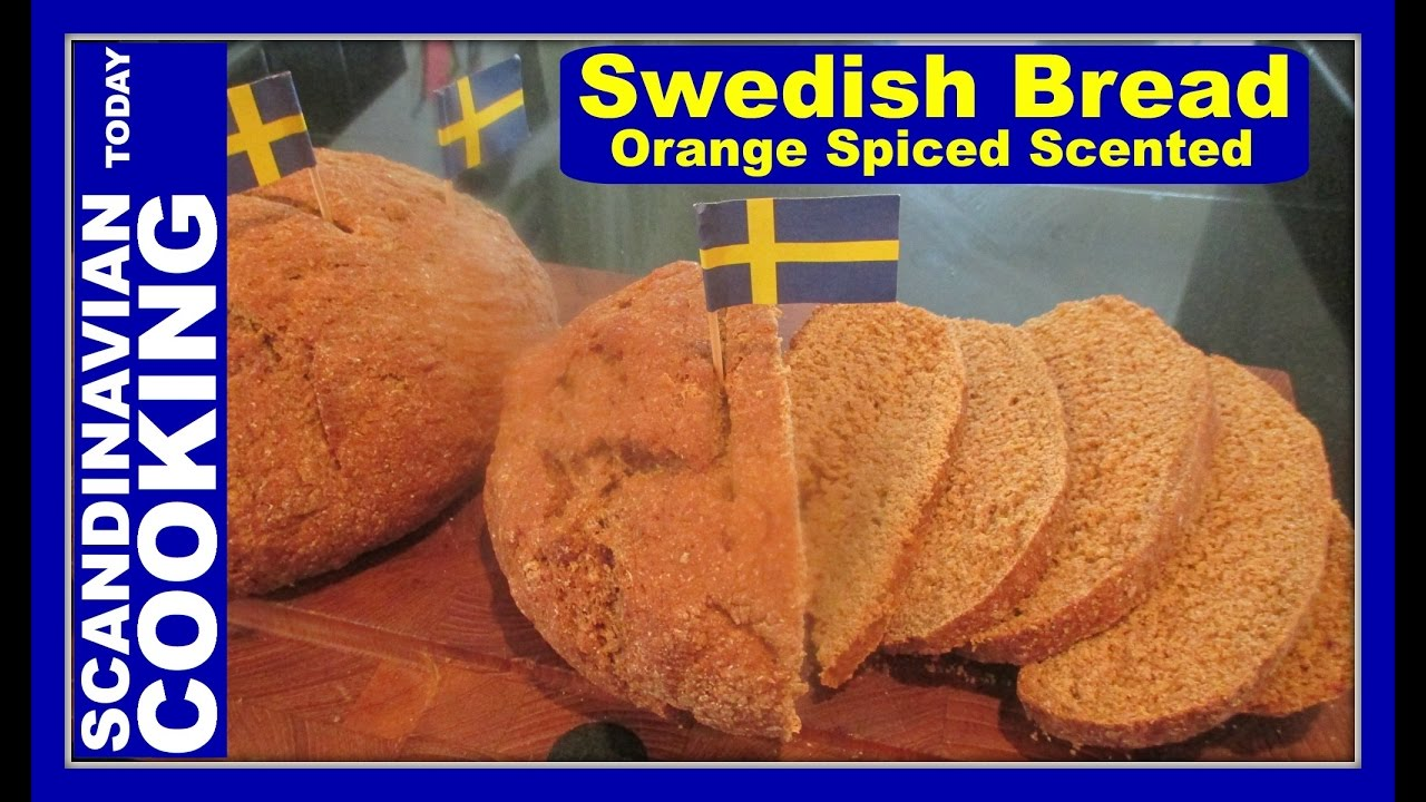 How to make homemade swedish limpa bread a delicious holiday bread recipe youtube - Make delicious sweet bread christmas ...