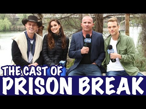 On the Lam with PRISON BREAK Stars!