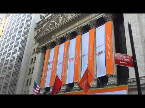 Alibaba Group Holding Limited at NYSE
