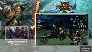 Monster Hunter Generations with Seltzer, PBG, TheJWittz and BrotherVirtue